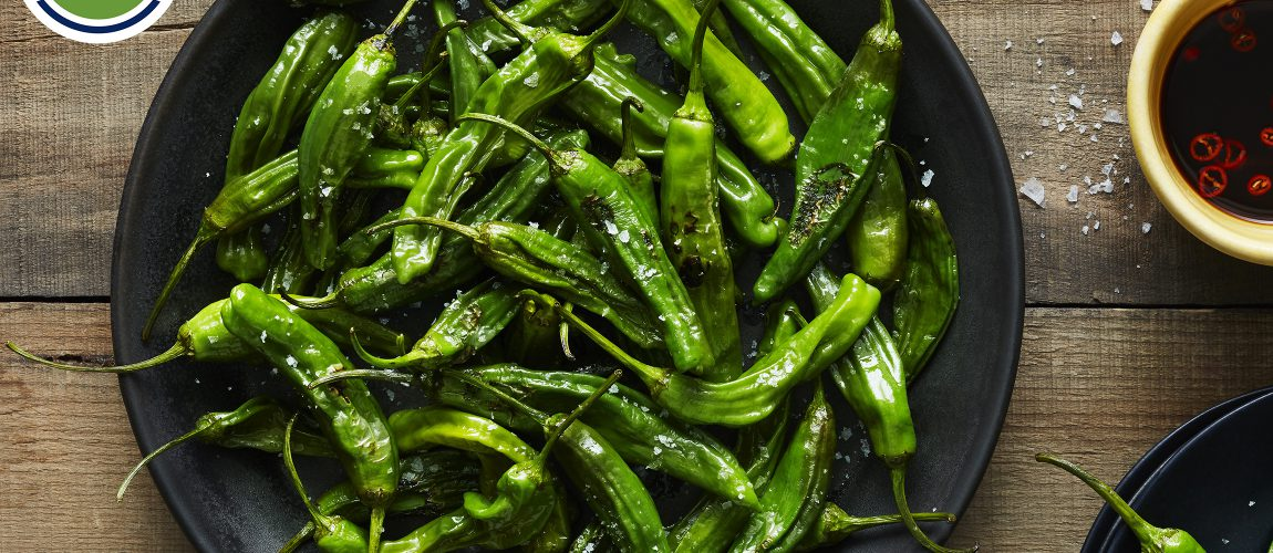 SUNSET® – Blistered Shishito Peppers