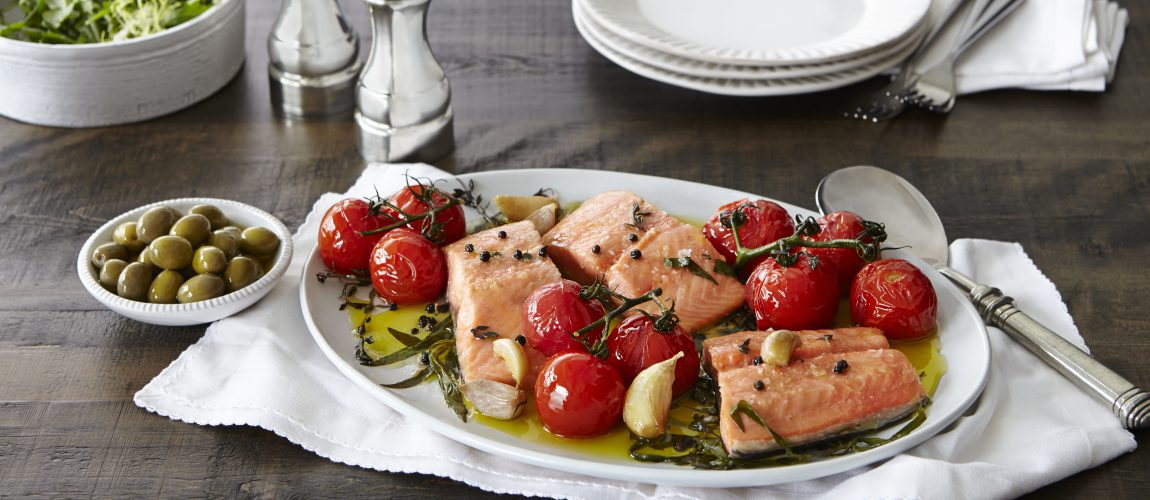 SUNSET® – Confit Campari Salmon