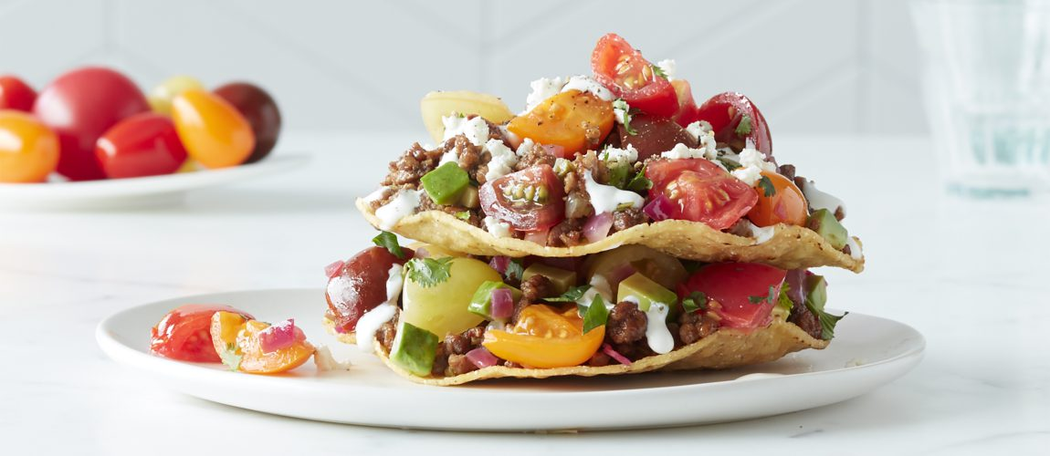 SUNSET® – Stacked Beefy Tostada