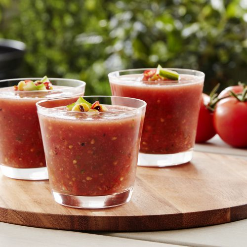 SUNSET® Charred Campari Gazpacho