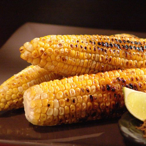 Grilled Corn with Five-Spice and Lime