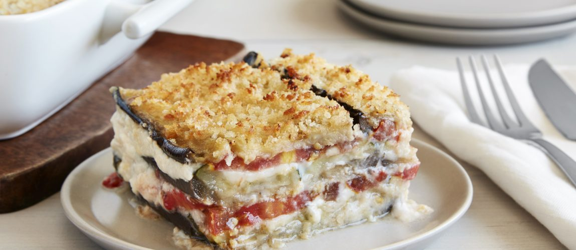SUNSET® Vegetarian Kumato® and Eggplant Lasagna