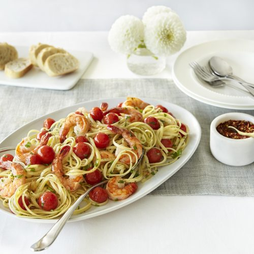 SUNSET® One Sweet Shrimp Linguini