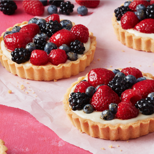 SUNSET® WOW™ Berry and Mascarpone Tart