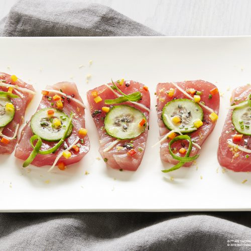 SUNSET® Mediterranean Inspired Tuna Crudo