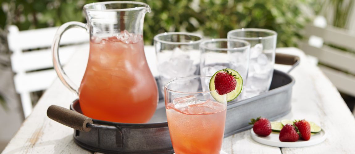SUNSET® Strawberry Aqua Fresca