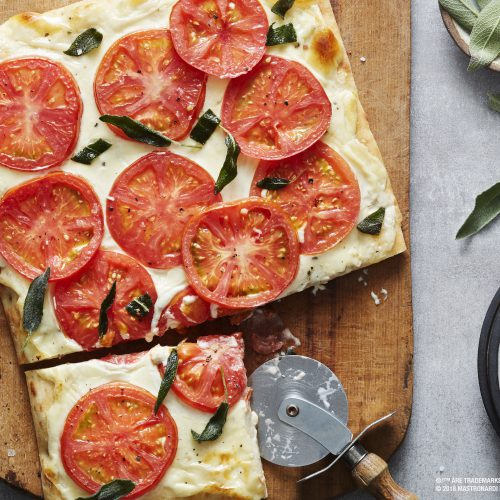 SUNSET® Browned Butter and Sage Yore™ & Mascarpone Flatbread
