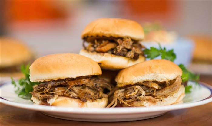 Pulled Pork Sandwiches Two Ways