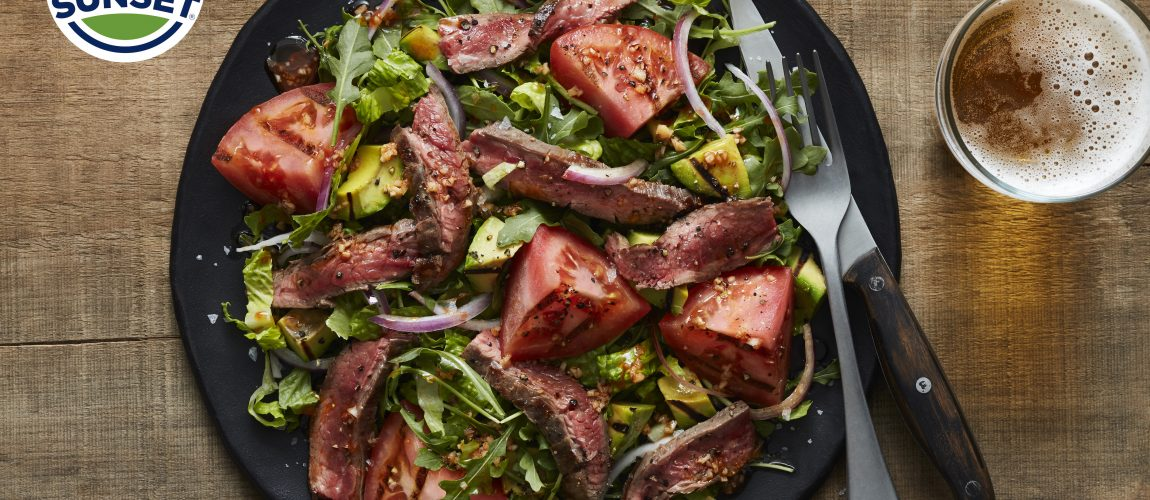 SUNSET® Grilled Steak Salad with Beefsteak Tomato