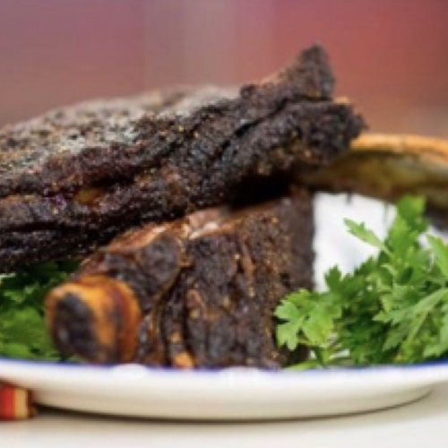 Spiced Roasted Beef Ribs