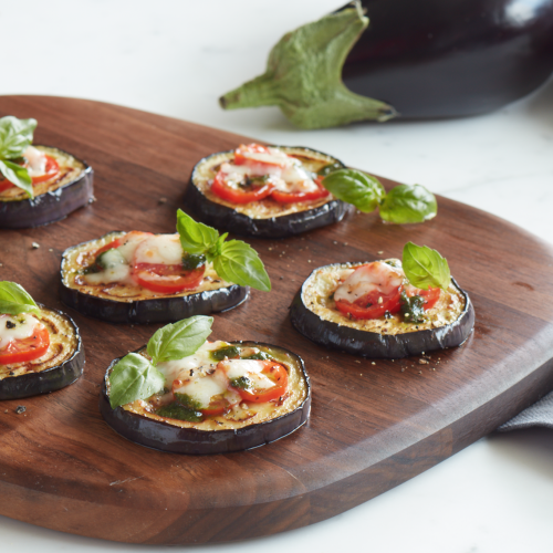 SUNSET® Eggplant Pizzas