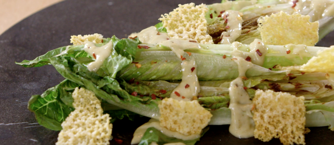 VIDEO – Grilled Caesar Salad