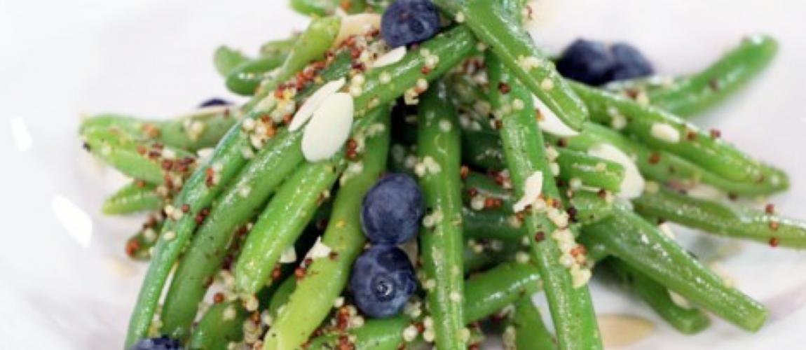 Green Bean & Blueberry Picnic Salad
