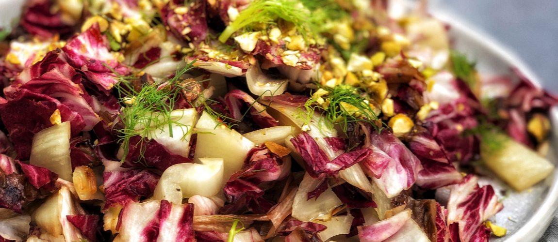 Grilled Radicchio and Fennel Salad
