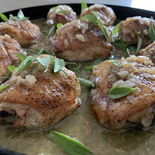 Coconut Braised Chicken